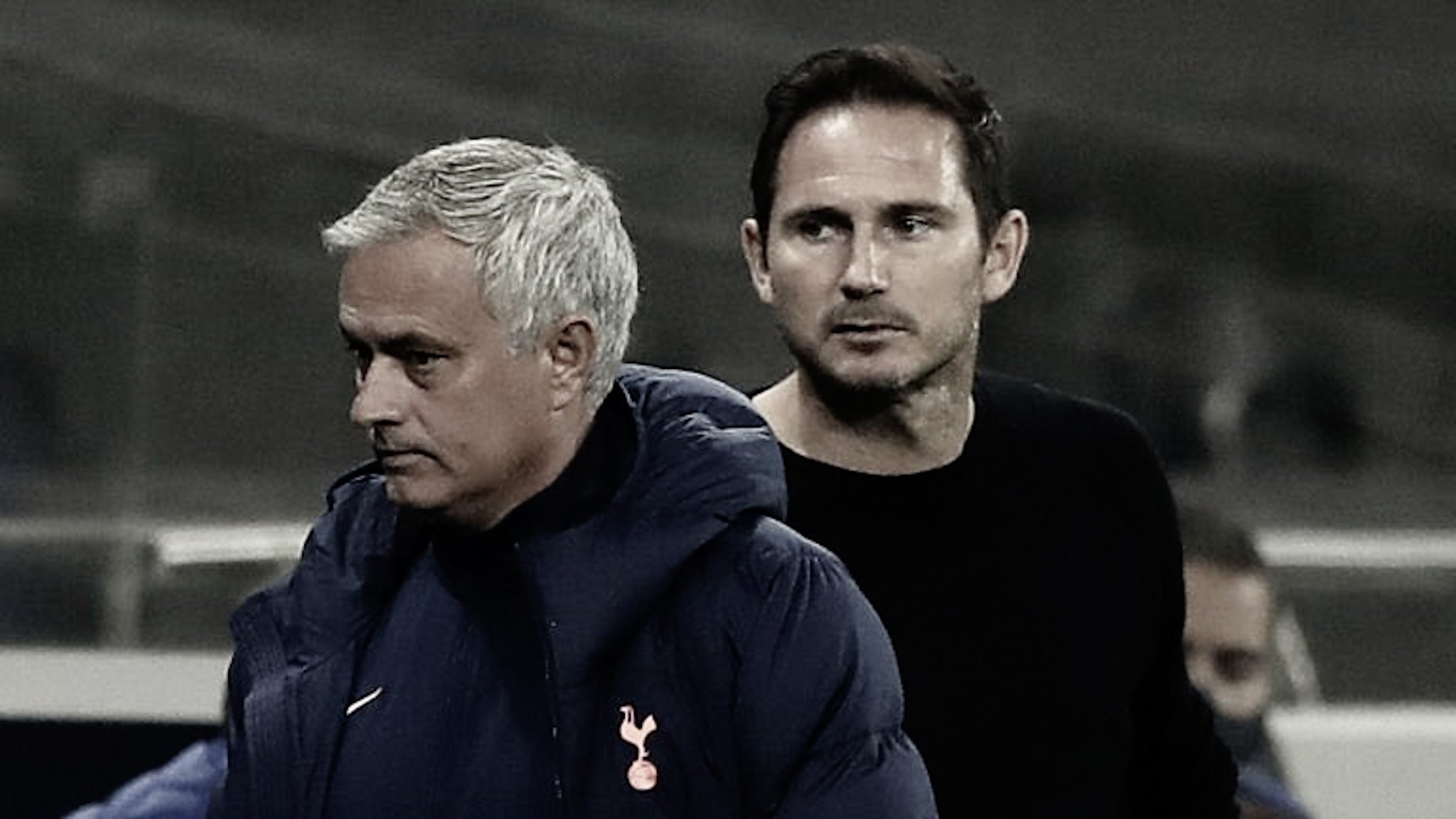 "Mourinho fires ""pressure"" jibe at Lampard ahead of Chelsea return"