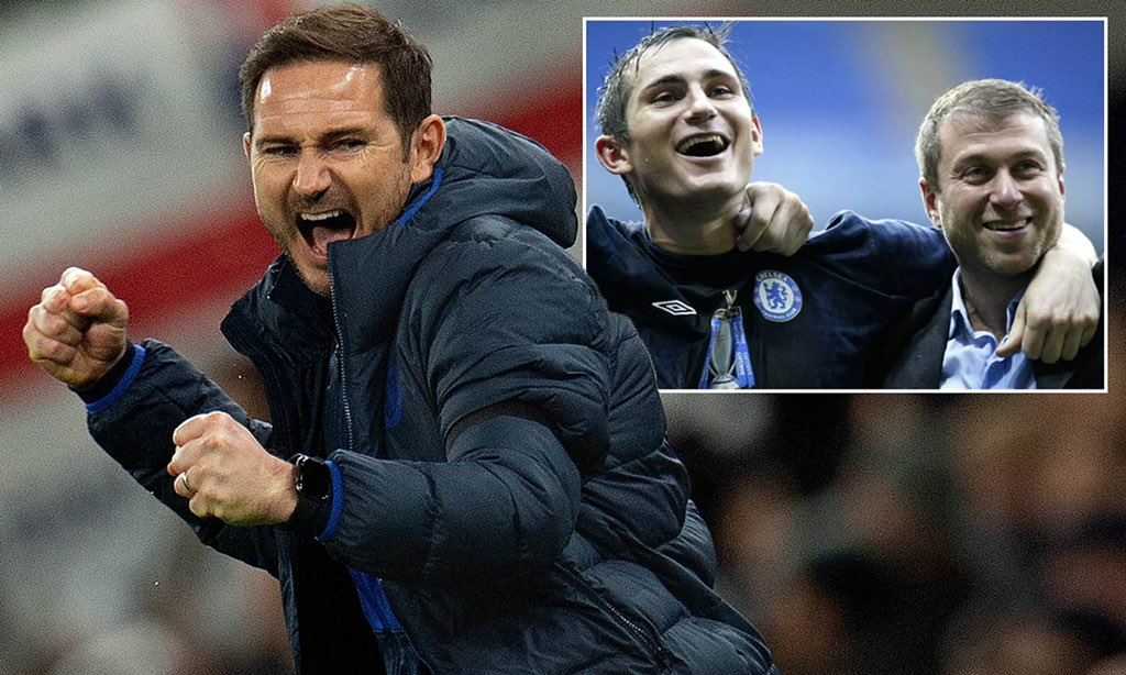 Lampard reveals the debt he owes Abramovich following £200m spending spree