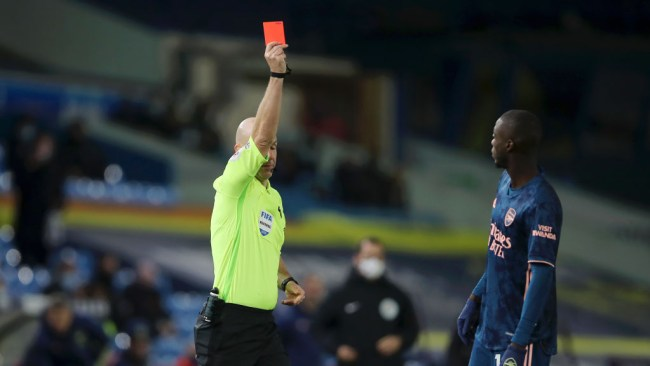 'He let the team down' – Arteta slams Nicolas Pepe after red card vs Leeds
