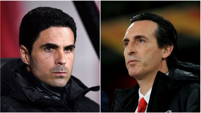 Mikel Arteta takes swipe at Emery as he reveals biggest problem he's had to solve
