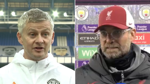 Jurgen Klopp responds to Solskjaer claims Man Utd were 'set up to fail'
