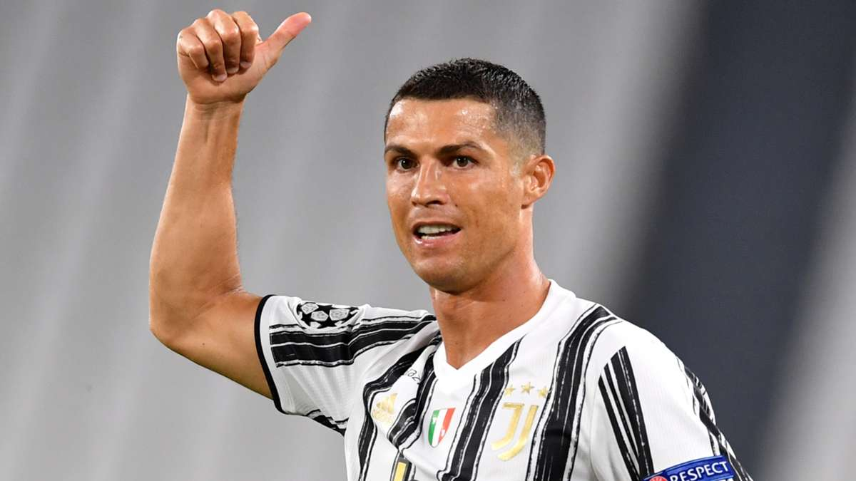 Cristiano Ronaldo becomes football's joint highest-ever goalscorer with late Juventus strike