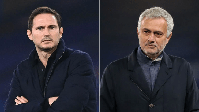 Frank Lampard hits back at Mourinho over title claims