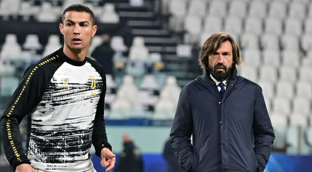 Juventus players unhappy with Pirlo over Cristiano Ronaldo's 'special rights'