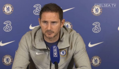Lampard reacts to Chelsea's Champions League draw with Atletico Madrid