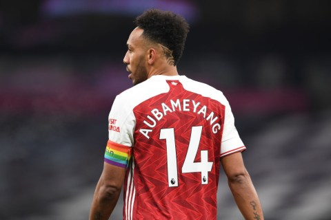 Arteta on Aubameyang