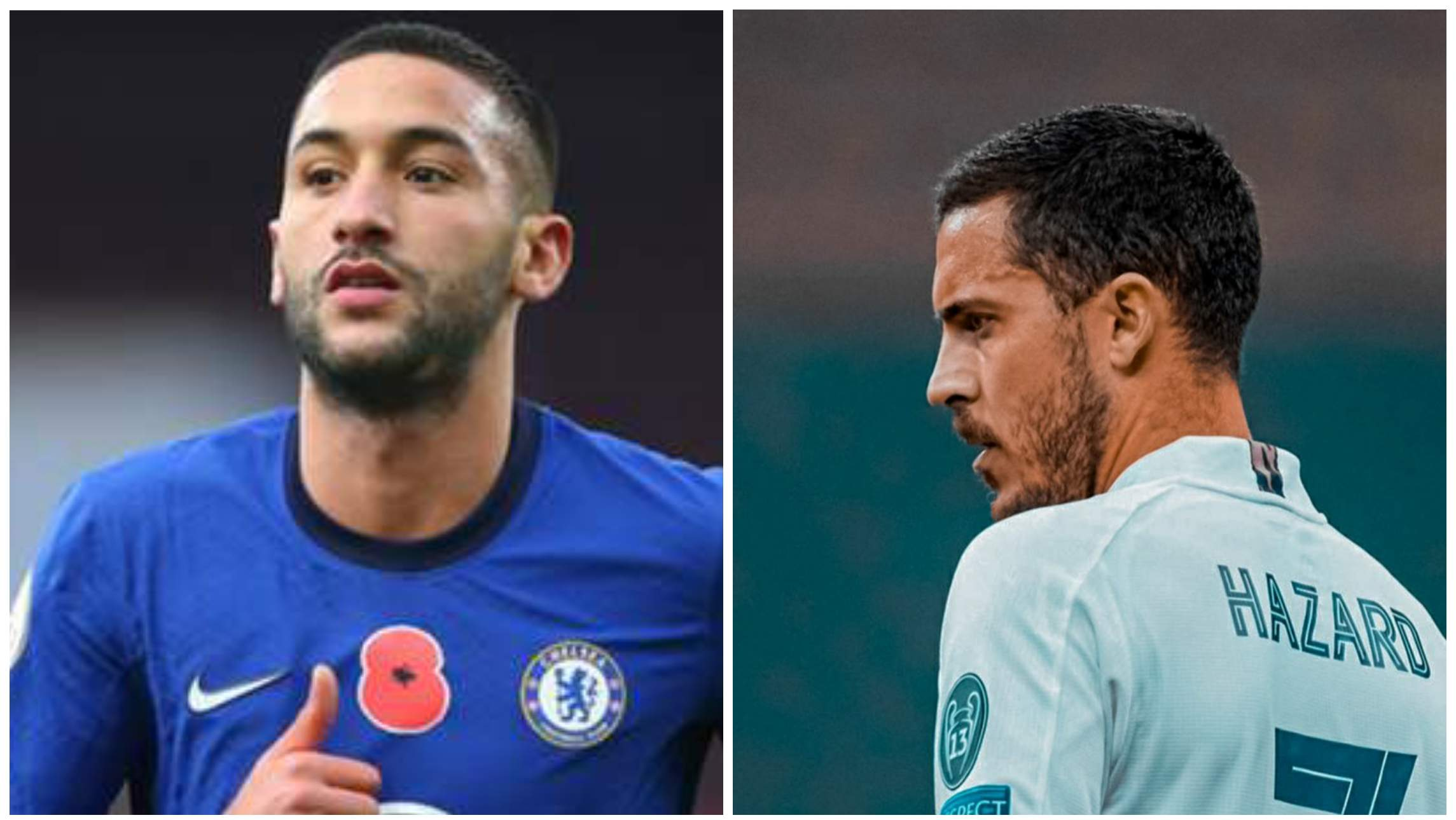 Hakim Ziyech reveals how Eden Hazard is teaching him at Chelsea
