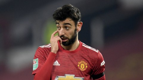 Bruno Fernandes disagrees with Liverpool criticism ahead of Man Utd FA Cup game