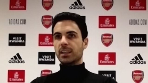 Mikel Arteta names Bruno Fernandes as best player in the Premier League