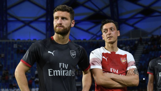 Mustafi aims swipe at Arsenal over Mesut Ozil exit