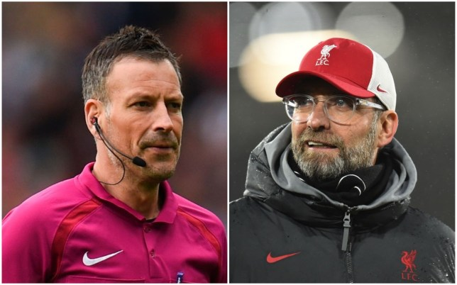 Klopp branded a 'hypocrite' by Mark Clattenburg ahead of Man Utd clash
