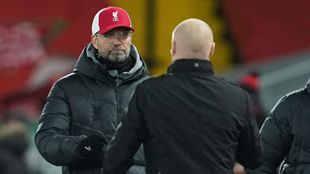 Sean Dyche speaks out on Jurgen Klopp tunnel fight in Liverpool's defeat to Burnley