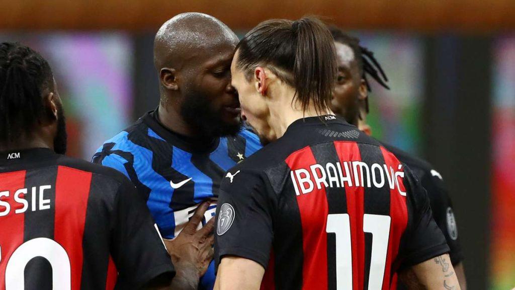 Lukaku and Ibrahimovic