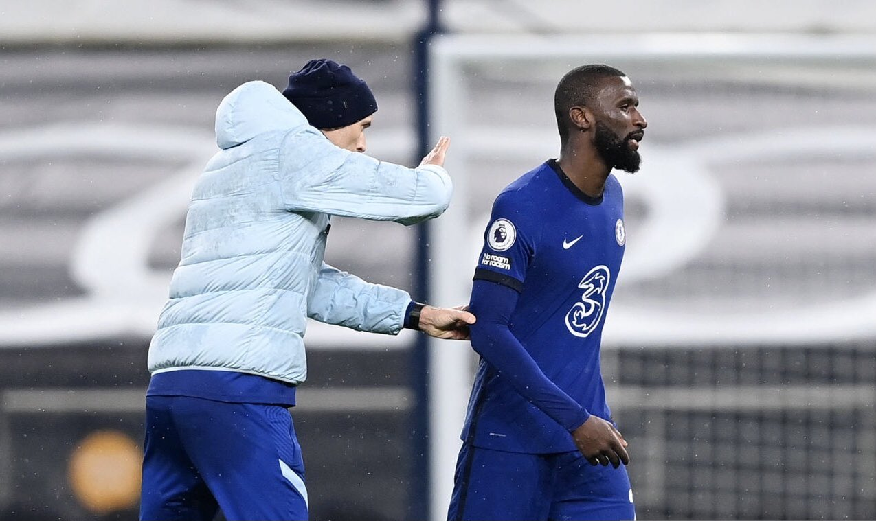 Rudiger aims swipe at Lampard as he says Tuchel 'knows what he wants'