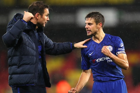 Azpilicueta aims dig at Lampard, insists everything is better since his exit