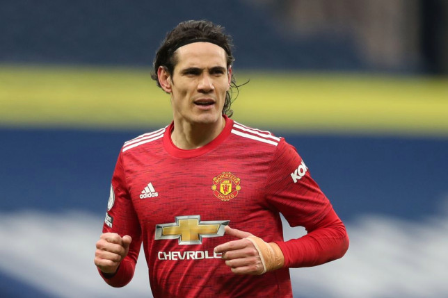 Cavani speaks out on his injury after Man Utd's draw against Chelsea