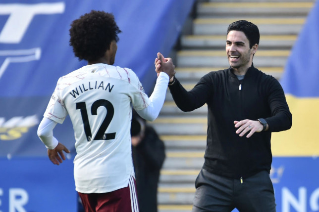 Arteta praises Willian & names three Arsenal players who stepped up