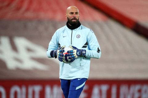 Willy Caballero on Chelsea