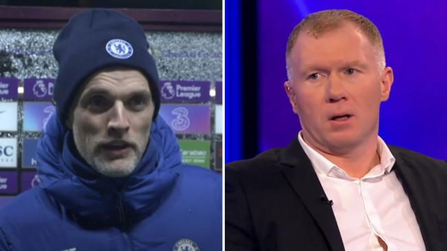 Scholes disagrees with Tuchel after Chelsea's stalemate against Man Utd