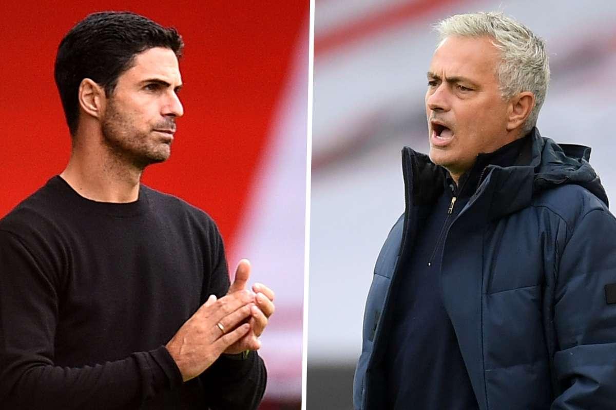 Jose Mourinho mocks Arsenal's league position ahead of London derby