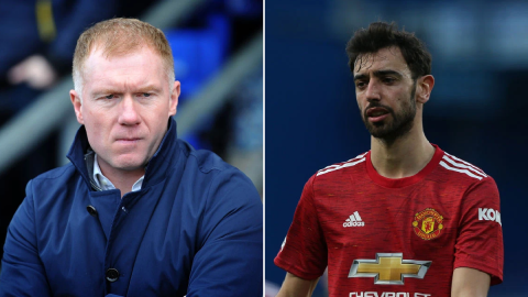 Scholes hits out at Bruno Fernandes & names two problem players at Man Utd