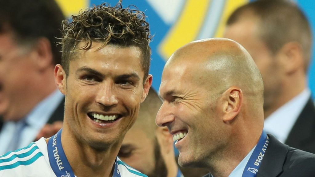 zidane on Ronaldo