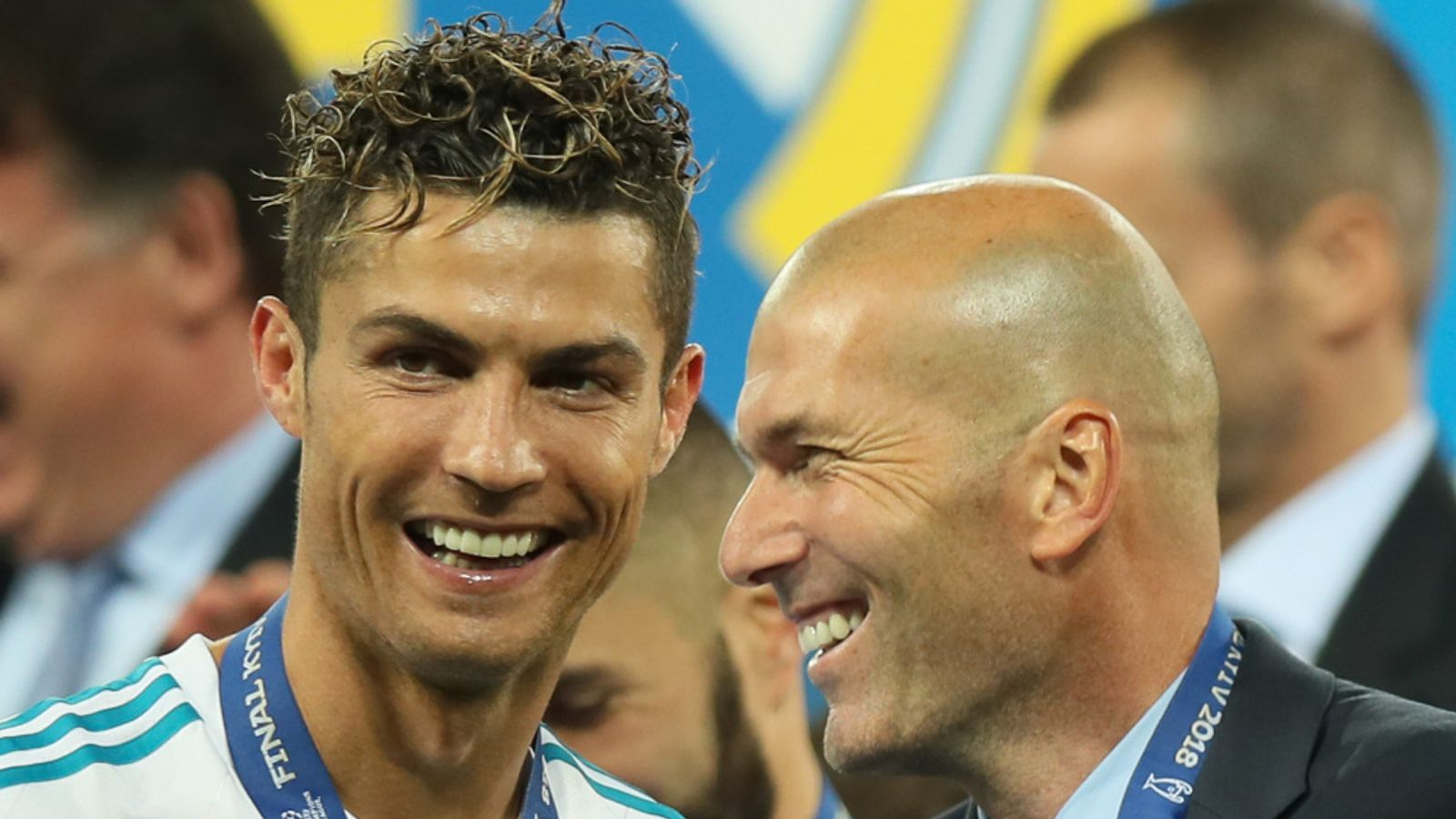 Zidane confirms Real Madrid are interested in signing Cristiano Ronaldo