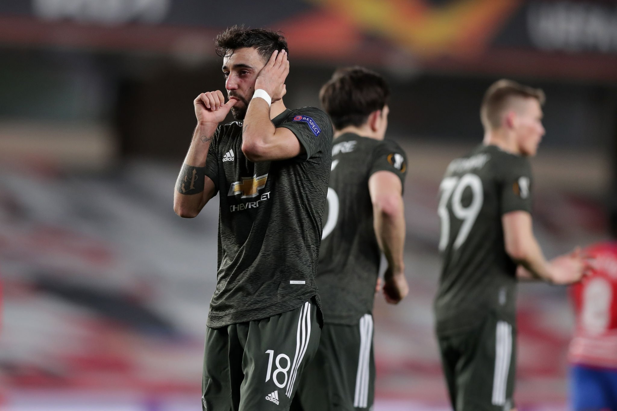 Bruno Fernandes speaks out on Man Utd facing Roma in the Europa League