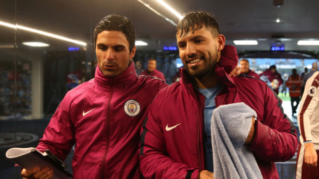 Arteta speaks out on Arsenal approach for Sergio Aguero after Man City exit