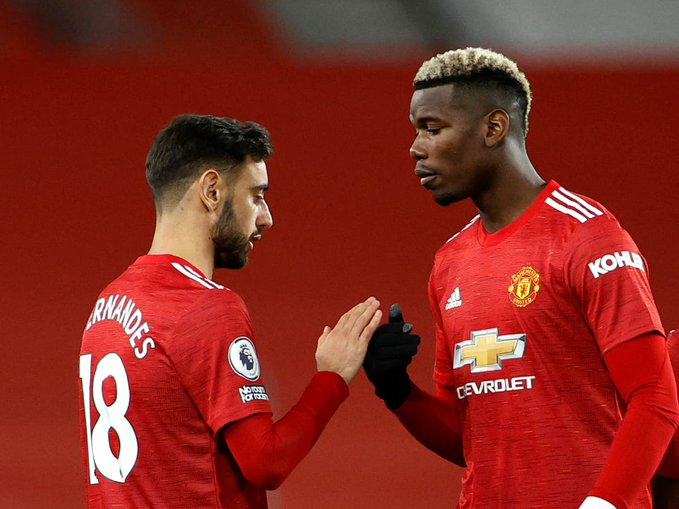 Bruno Fernandes explains how Pogba has made him a better player