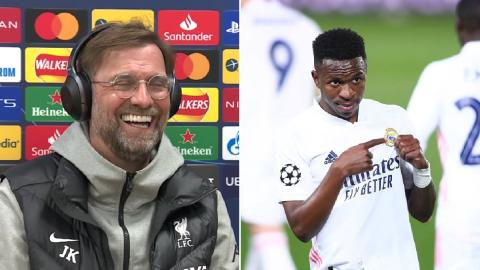 Jurgen Klopp on Vinicius Jr