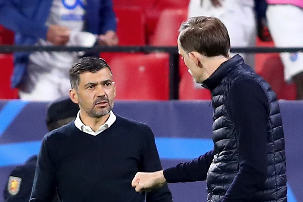 Tuchel 'insulted' Porto boss Sergio Conceicao after Champions League clash