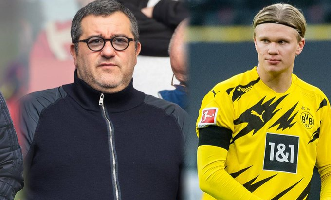 Raiola names the two teams 'it will be hard for Erling Haaland to say no to'