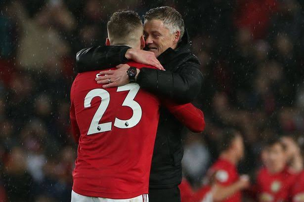 Luke Shaw reveals what Solskjaer said to inspire Man Utd's comeback win vs Aston Villa