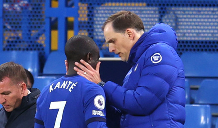 Tuchel provides N'Golo Kante injury update after going off in Leicester win