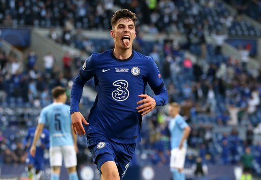 'I don't give a f***!' – Havertz shuts down reporter's question after Chelsea's UCL win