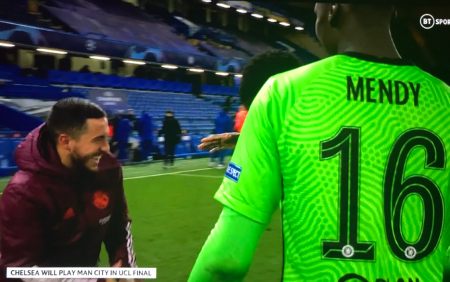 Real Madrid fans blast Eden Hazard for laughing with Chelsea players after 3-1 defeat
