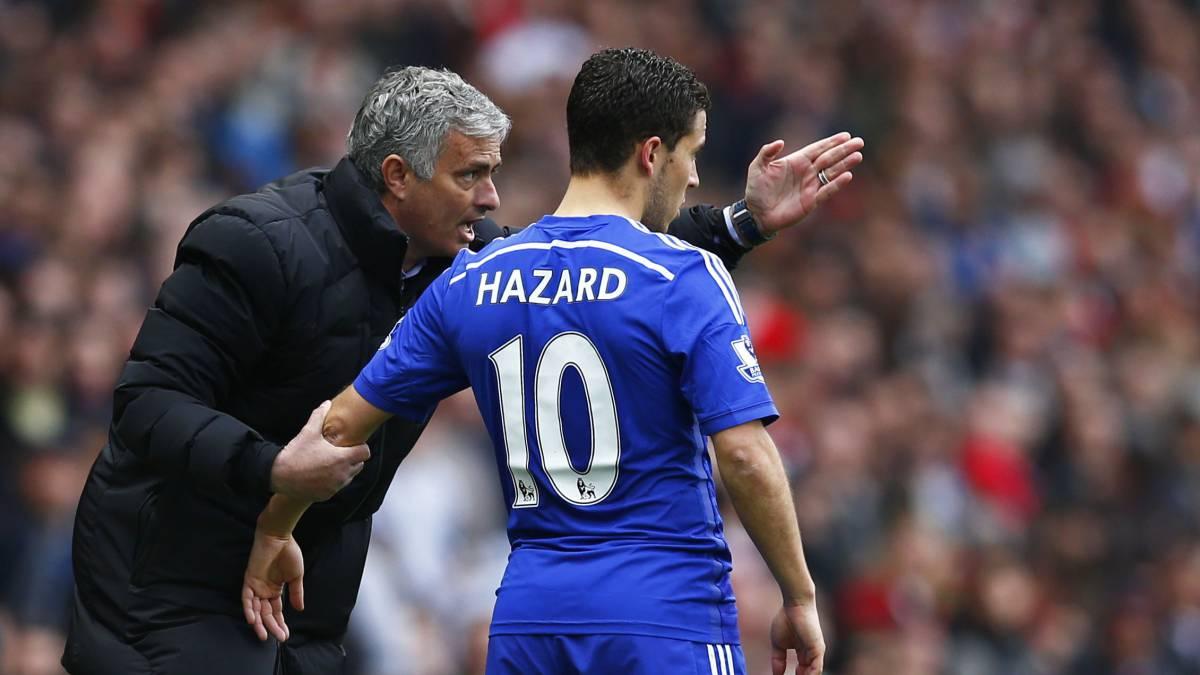 Mourinho criticises Eden Hazard's 'awful' habit at Chelsea