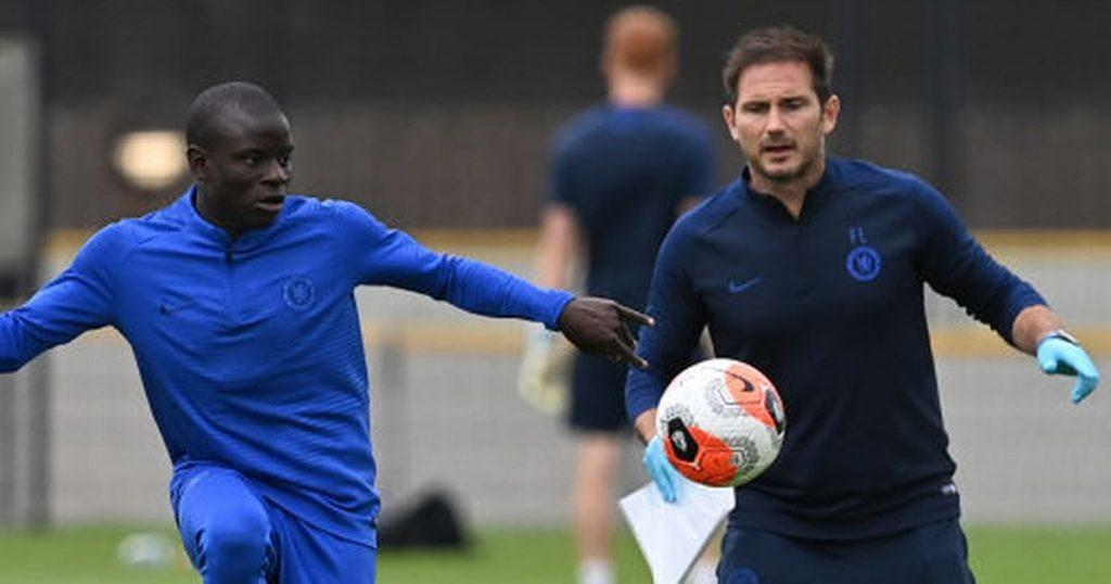 Lampard on Kante