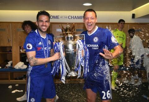 Fabregas reveals John Terry's anti-Tottenham message to Chelsea in final speech
