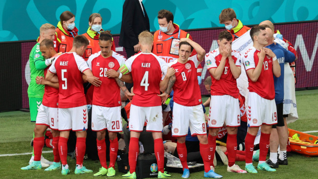 Denmark threatened with forfeit if they did not play after Eriksen's collapse