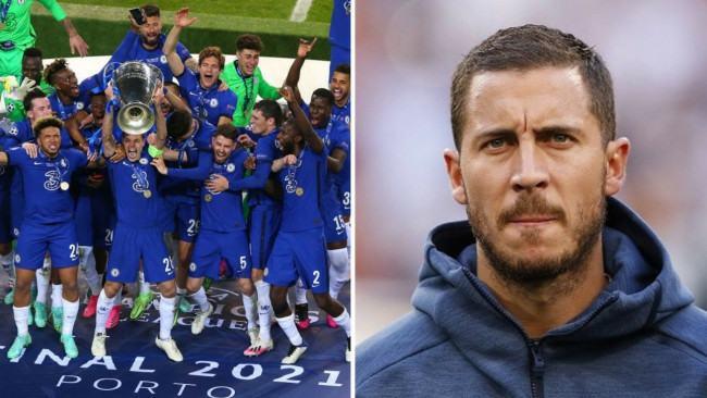 Eden Hazard makes honest admission about Chelsea's Champions League triumph