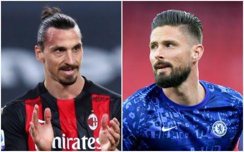 Zlatan Ibrahimovic endorses AC Milan's push to sign Chelsea's Olivier Giroud