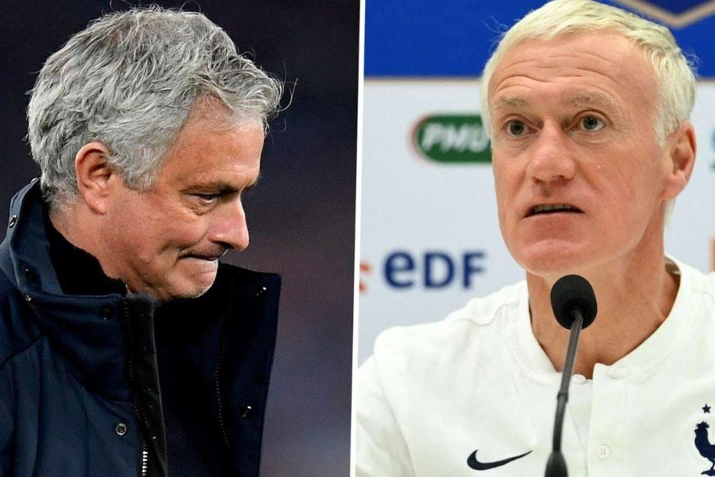 Deschamps on Mourinho