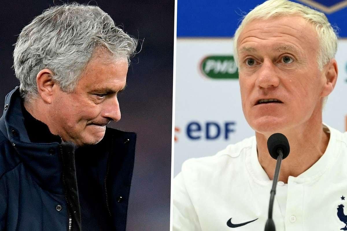 You failed as Tottenham manager – Deschamps fires back at Jose Mourinho