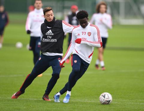 Mesut Ozil sends message to Bukayo Saka over Euro 2020 penalty miss & racist abuse