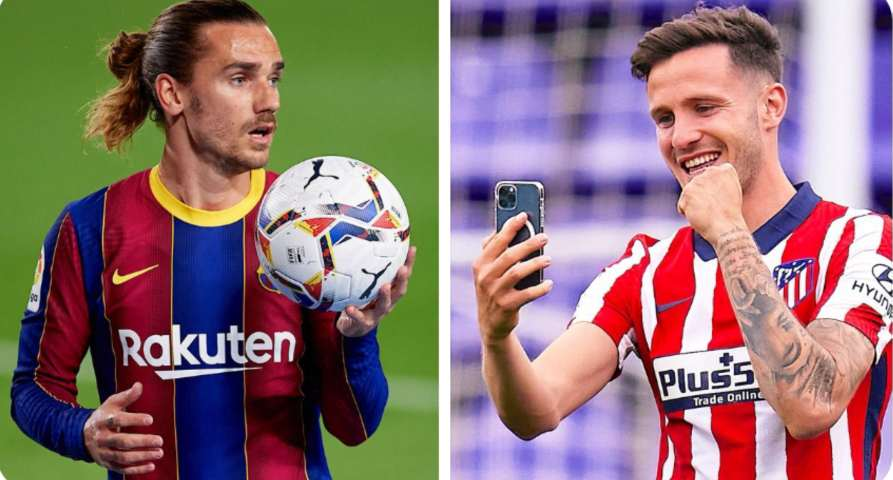 Saul Niguez says Atletico Madrid are 'kicking him out' as he nears Barcelona move
