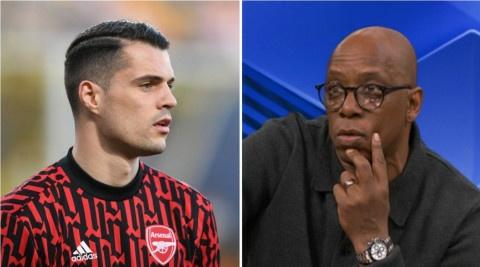 Ian Wright sends message to Arsenal & Arteta over Granit Xhaka transfer
