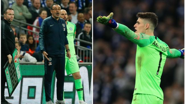 Kepa reveals the truth behind his infamous League Cup final clash with Maurizio Sarri