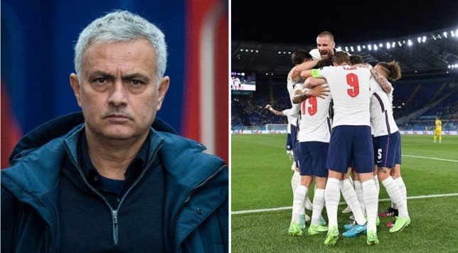 Mourinho fires warning to England after they reach Euro 2020 semi-finals